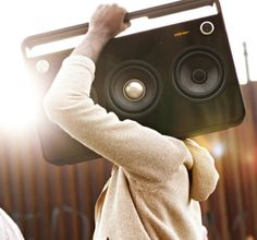 TDK 3 Speaker Boombox. Nexttttt purchase!