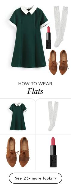 """""""Super Cool Schoolgirl"""" by kk-purpleprincess on Polyvore featuring Aéropostale, NARS Cosmetics, women's clothing, women, female, woman, misses and juniors"""
