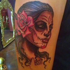 Dias de Los Muertos tattoo