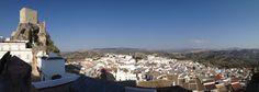 Olvera in Cádiz, Andalucía