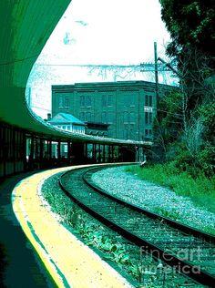 @Sally McWilliam Simon #photography #railroad #track