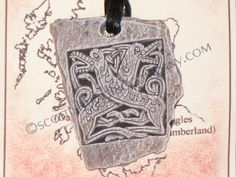 Celtic Hounds Pendent - Click Image to Close