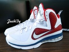 check out e6050 16109 Nike LeBron 9 iD  First Game  By Zach13g - SneakerNews.com