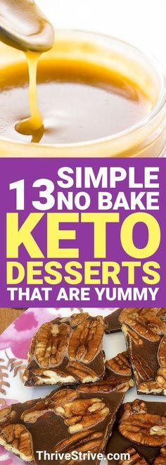 Want some easy to make desserts that can help you lose weight? Check out these keto friendly desserts.