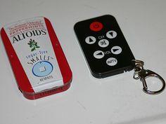 Altoids tin remote