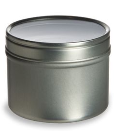 Tin Deep Container w/ Clear Top Cover (magnetic spice rack)