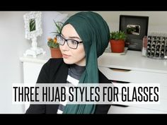 HIJAB TUTORIAL FOR GLASSES WEARERS | NABIILABEE - YouTube