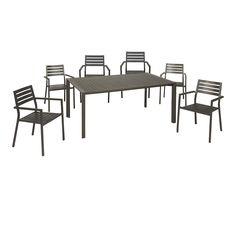 comedor de exterior sillas y mesa columbia