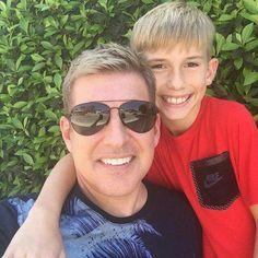 Todd Chrisley With Son Grayson Chrisley