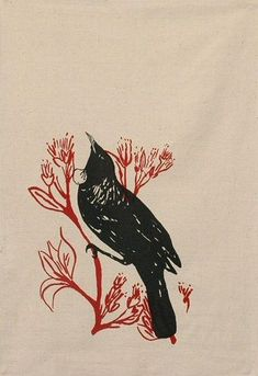 Ingrid Anderson designs and produces a range of designer textiles, teatowels and cushions, printed & sewn and made in New Zealand. Art Diary, Drawings, Tatoo Designs, Illustration Design, Geometric Tattoo Arm, Maori Tattoo, Art, Bird Drawings, Black And Grey Tattoos