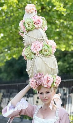 Royal Ascot celebrated its Tricentennial in 2011. It was founded as a racecourse in 1711 by Queen Anne.  This is one of the hats worn during the celebration.