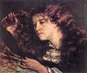 """New artwork for sale! - """" Portrait Of Jo The Beautiful Irish Girl  by Gustave Courbet """" - http://ift.tt/2pgcSWW"""