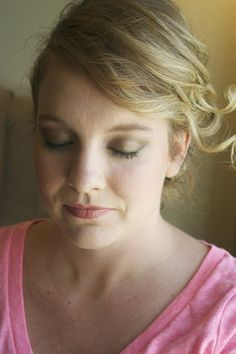 Hair and makeup by Sonar Beauty #updo #wedding #makeup #bride