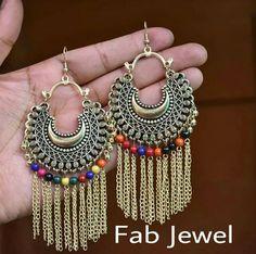 Silver Earrings Clip On Code: 6045078407 Indian Wedding Jewelry, Indian Jewelry, Boho Jewelry, Jewelery, Fashion Jewelry, Silver Accessories, Trendy Accessories, Silver Earrings, Silver Jewelry