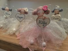 Personalised Mini Fairy Doll sparkling by FabulousFairyFactory