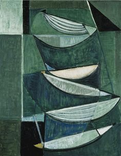 Black and White Movement on Blue and Green II, by Terry Frost © Estate of Terry Frost. All Rights Reserved, DACS/Artimage Image: © National Galleries of Scotland Sonia Delaunay, Famous Abstract Artists, Tate Gallery, Art Archive, Art Uk, Color Of Life, Op Art, Contemporary Art, Black And White