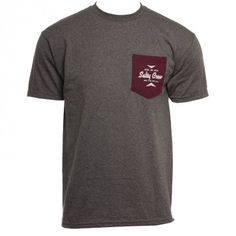 Salty Crew Mens Shirt  Choose Charcoal Heather