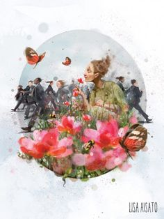 Find the Garden within You; Shape Art, Smile Face, Whimsical Art, Artsy Fartsy, Mother Nature, Book Art, Brave, Lisa, Presents