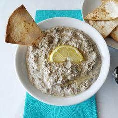 Green Lentil Hummus HealthyAperture.com