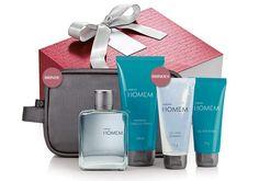 Presente Natura Homem - Desodorante Colônia + Shampoo + Gel para Barbear + Gel…