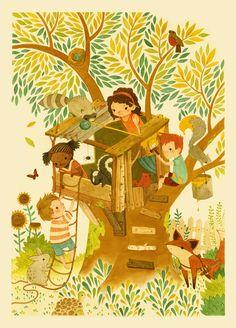Teagan White by T2 Children's Illustrators, via Behance