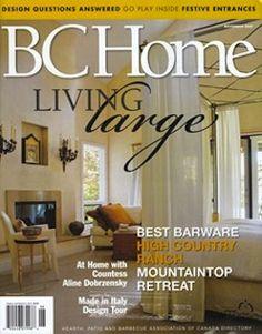 BC Home. Nterior Design Magazine, Home Decorating Magazine, Shelter Magazine,  Architecture Magazine