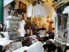 A Vintage Shop in Paris #vintage #travel #France #fashion