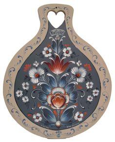 Ryfylke (style) Rosemaling Lefsa Board