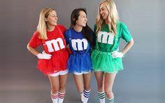 Inspiration, alle Accessoires und eine Schmink-Anleitung, damit du dein M&M Kostüm selber machen kannst.