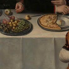 Family Portrait of Pierre de Moucheron, Merchant in Middelburg and Antwerp, his Wife Isabeau de Gerbier, their 18 Children, their Son-in-Law Allard de la Dale, and first Grandchild, 1563, Anonymous - Rijksmuseum