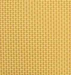 Small Dandelion Corn Yellow Slub Dandelions Drapery fabric and