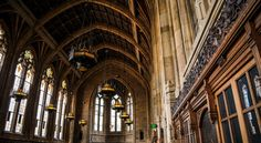 If Hogwart's Great Hall ever needed to relocated, the Graduate Reading Room at the University of Washington would probably the be next best option. Located inside the University's Suzzallo Library designed in Collegiate Gothic style, the Graduate Reading Room features stained-glass windows and dimming chandeliers that add a haunting aura to the room.