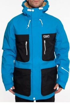 On goodiesonline.ch Homme Snow :: Clwr TKS Jacket Sky Blue Size Medium