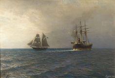 Lev Lagorio - Sea (1902)