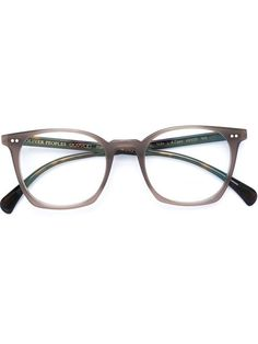 Shop Oliver Peoples 'L.A Coen' glasses in André Opticas from the world's best independent boutiques at farfetch.com. Shop 400 boutiques at one address.