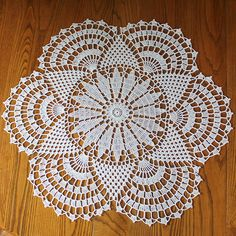 Signed With an Owl: Rising Sun Doily (or a Test in Patience)