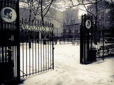 Augustus Saint Gaudens Playground in the Snow, Gramercy, Manhattan, taken with iPhone camera | by Jeffrey