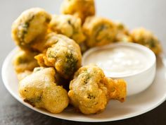 Beer-Battered Broccoli Bites - or how we learned to love our vegetables >> YUM!