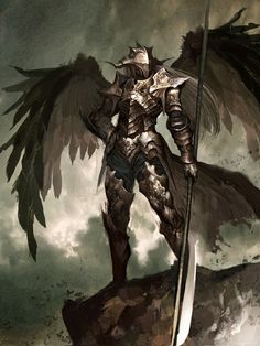 Winged iron golem