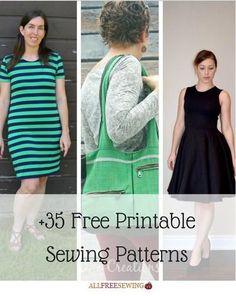 35 Free Printable Sewing Patterns