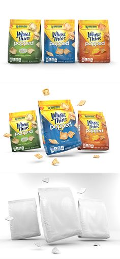 Wheat Thins Popped on Behance Packaging Snack, Organic Packaging, Cool Packaging, Food Packaging Design, Packaging Design Inspiration, Label Design, Box Design, Fish Feed, Creative Posters