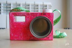 diy cardboard camera · diy cámara fotográfica cartón #kids #craft by glaramknits