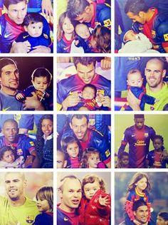 Kids of Barcelona players Fc Barcelona, Barcelona Players, Best Football Team, Football Soccer, Football Players, Messi And Neymar, Lionel Messi, Marc Bartra, Dani Alves