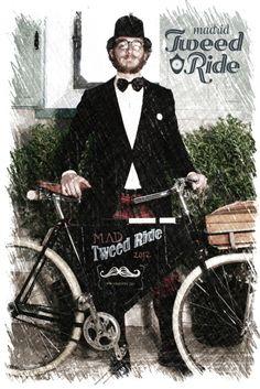 Tweed Ride Madrid 2012