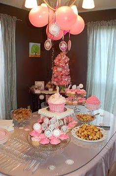 Pink & Brown Little Cupcake