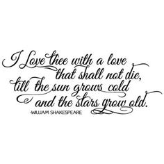 shakespeare love quotes for him