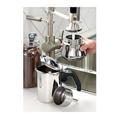 RÅDIG Espresso pot for 6 cups, stainless steel - espresso pot for 6 cups - IKEA