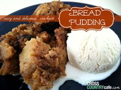 If you love bread pudding, be sure to give this Crockpot Bread Pudding Recipe from Cross Country Cafe a try!