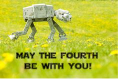 Happy International Star Wars Day!  May the Fourth be with you :D