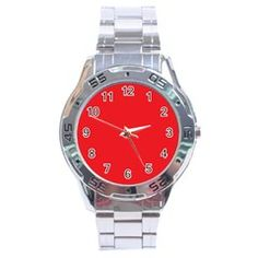 """""""YOU - Nique Stainless Steel Analogue Watch  $22.99 www.feelgoodfashionandliving.com"""""""